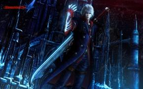 Картинка demon, Nero, devil may cry 4, capcom
