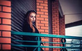 Картинка шляпка, фотосессия, Лера, рыжеволосая модель, Валерия Водопьянова