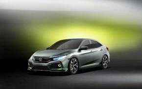 Обои Concept, концепт, Honda, хонда, Civic, цивик