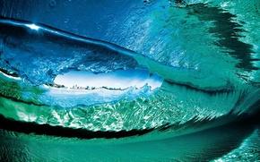 Картинка вода, прозрачность, океан, волна