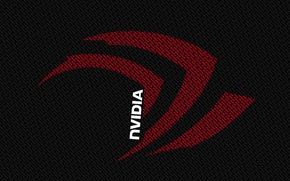 Картинка red, white, Nvidia, black, letters