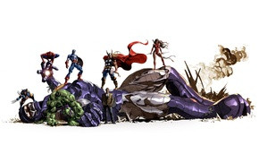 Картинка фон, Superheroes, Marvel Comics, Sentinel