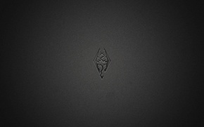 Картинка дракон, минимализм, черное