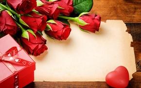Картинка цветы, розы, свечи, красные розы