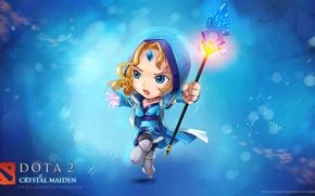Картинка chibi, dota 2, crystal maiden, virtualman209