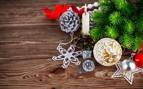 Картинка украшения, шары, елка, Новый Год, Рождество, Christmas, wood, decoration, Merry