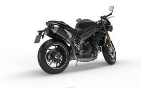 Картинка motorcycle, triumph, speed triple 2016