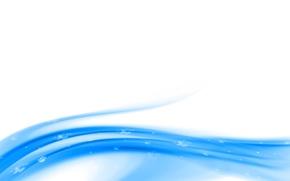 Картинка линии, синева, изгибы