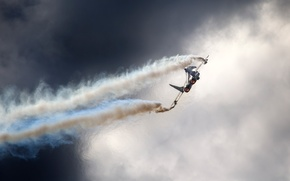 Картинка небо, тучи, Россия, МиГ 29