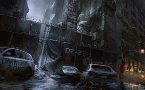 Картинка Зима, Игры, Здание, Ubisoft, Game, Tom Clancy's The Division