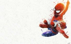 Картинка фон, рука, супергерой, комикс, Marvel Comics, Spider-Man, Peter Parker, Питер Паркер, Человек-Паук, Марвел