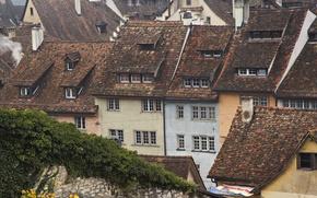 Обои крыши, Switzerland, Schaffhausen