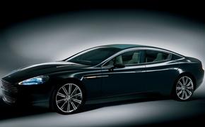 Обои Aston, Martin, тёмный