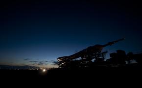 Обои старт, Союз ТМА-17, Казахстан, Байконур