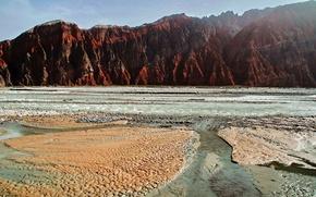 Картинка небо, вода, горы, Памир