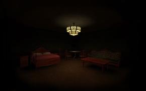 Картинка мрак, мистика, отель, хоррор, Vampire The Masquerade Bloodlines