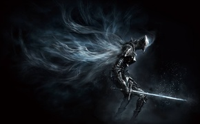 Обои игры, sword, рыцарь, games, rpg, доспех, knight, from software, dark souls 3, темные души 3
