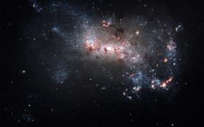 Картинка звезды, Космос, созвездие, скопление