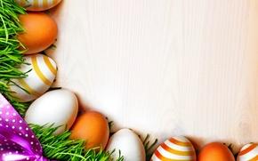 Картинка яйца, пасха, grass, eggs, easter