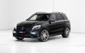 Обои Mercedes-Benz, Brabus, мерседес, W166, ML-Class