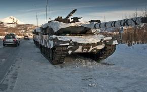Картинка Германия, танк, бронетехника, Leopard 2A6, военная техника