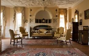 Картинка дизайн, стиль, вилла, интерьер, жилая комната, The Victorian House