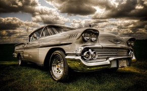 Обои american muscle, chevy, antique