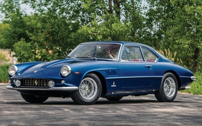 Обои ferrari, 400, superamerica, coupe, aerodinamico, 1961, феррари