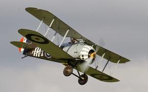 Картинка истребитель, британский, одноместный, Первой мировой войны, времён, replica, Sopwith 7F1 Snipe