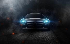 Картинка Mercedes-Benz, AMG, C190
