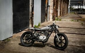 Картинка Yamaha, Custom, Scrambler
