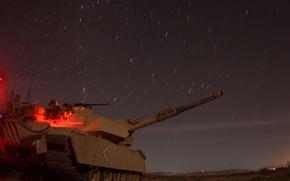 Картинка звезды, ночь, танк