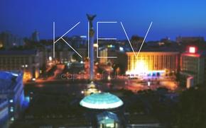 Обои Город, Украина, Киев, Ночной