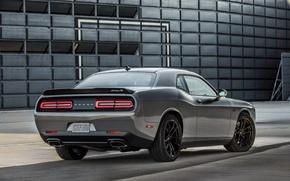 Картинка Dodge, Challenger, автомобиль, задок, масл кар, T/A 392