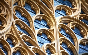 Картинка Англия, Йорк, фрагмент собора