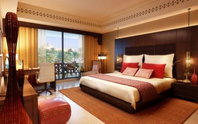 Картинка кровать, спальня, interior, постель., desigen