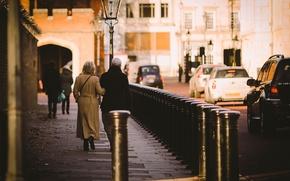 Картинка машины, улица, прохожие, Street Photography