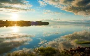 Картинка пейзаж, закат, Канада, остров Принца Эдуарда