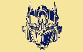 Картинка yellow, blue, transformers