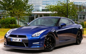 Картинка 2015, UK-spec, Nissan, GT-R, ниссан, R35