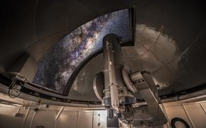 Картинка небо, телескоп, обсерватория
