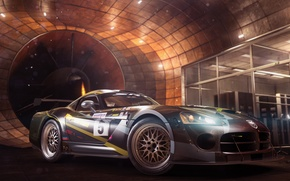 Картинка USA, Race, Cars, Chicago, Dodge Viper, New York, Detroit, Game, Cities, Ubisoft Reflections, The Crew