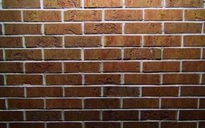 Обои кладка, кирпичи, текстура, кирпичная стена