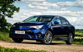 Картинка Toyota, тойота, UK-spec, 2015, Avensis, авенсис, T270