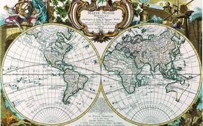 Картинка мир, карта, материки, Mappe monde
