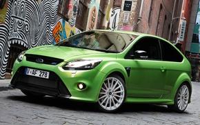 Картинка Ford, Focus, Green