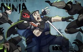 Картинка игры, игра, Ninja, Mark of the ninja