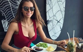 Обои девушка, модель, красотка, виктория одинцова, Vika Odintcova