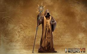 Картинка арт, art, Капеллан, герои меча и магии 7, Might & Magic 7, Альянс Света