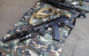 Картинка оружие, автомат, гранатомёт, подствольный, АЕК-971